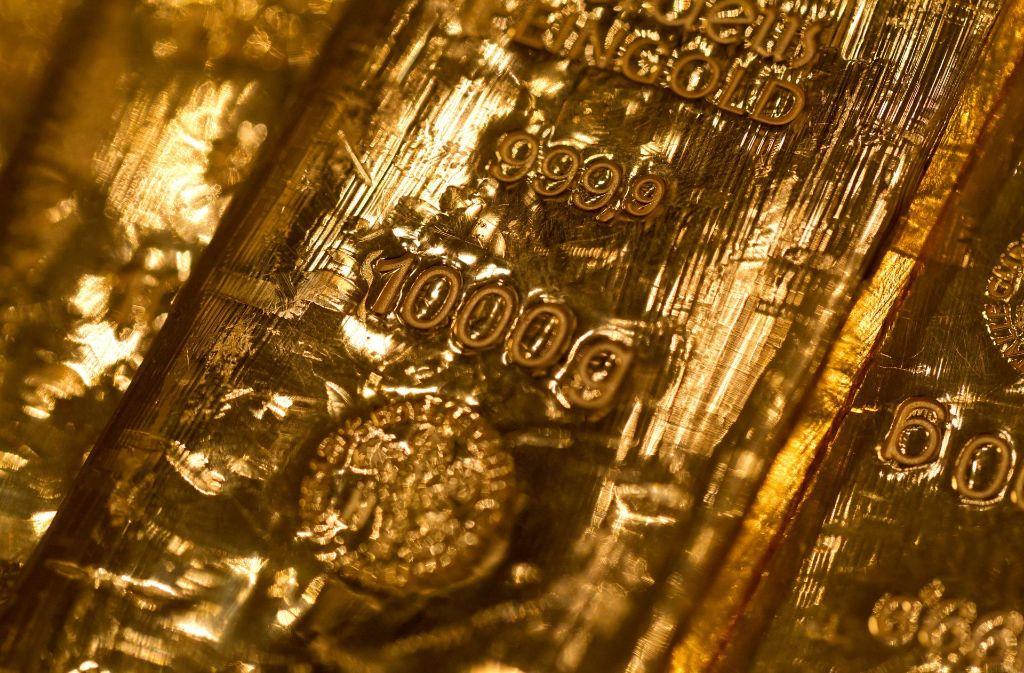Ein einziger Goldbarren ist derzeit über 400000 Euro wert. Foto: dpa