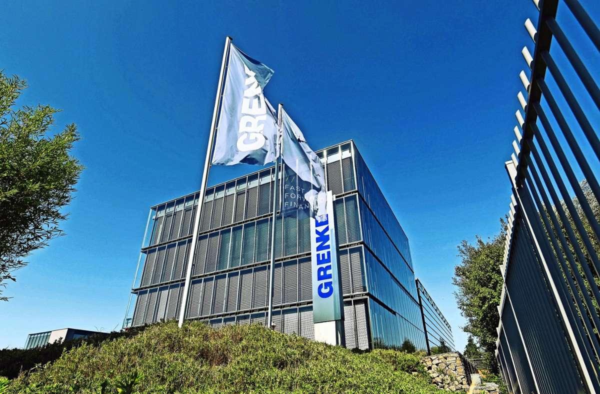 Viel Glas, viel Licht – zumindest der Firmensitz der Grenke AG in Baden-Baden vermittelt reichlich Transparenz. Foto: dpa/Uli Deck