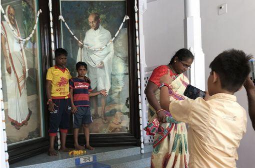 Auf den Spuren von Gandhi