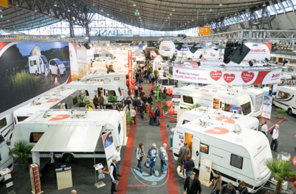 Die Touristikmesse CMT hat vom 11. bis 19. Januar 2014 ihre Pforten geöffnet (Archivbild aus dem Jahr 2013). Die Messe bietet ... Foto: Messe Stuttgart