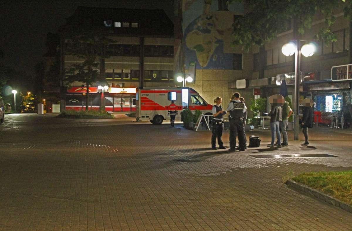 Zu der Schlägerei am Bahnhof Zuffenhausen war es am Montagabend gekommen. Foto: SDMG/Schulz