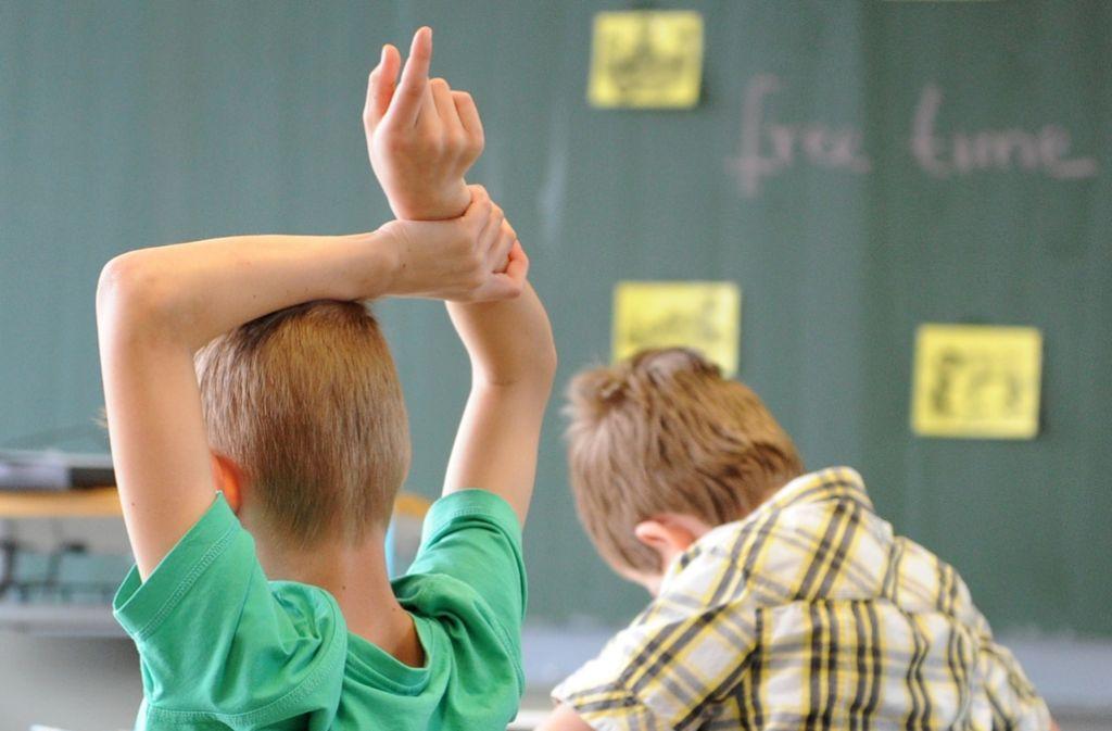 Musterschüler war einmal. Baden-Württembergs Schüler zeigen große Lücken. Foto: dpa
