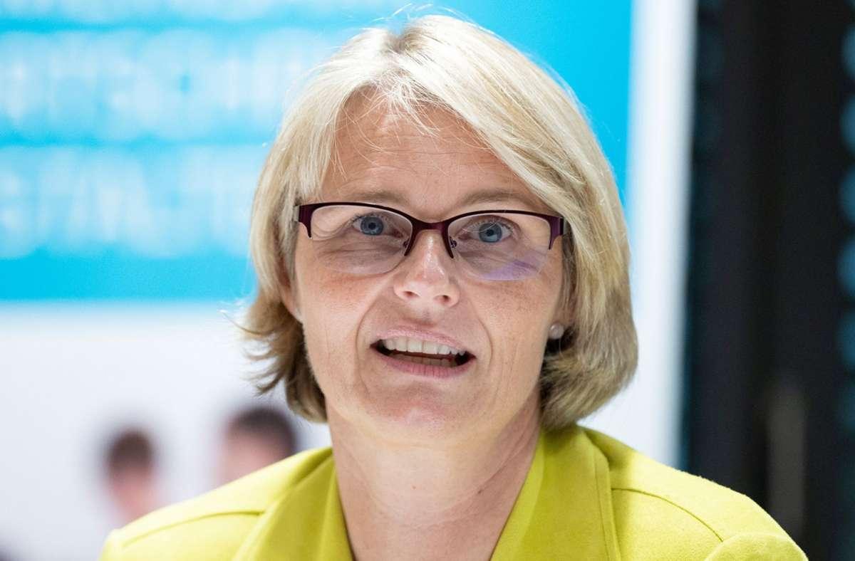 Bundesforschungsministerin Anja Karliczek. Foto: dpa/Bernd Weissbrod
