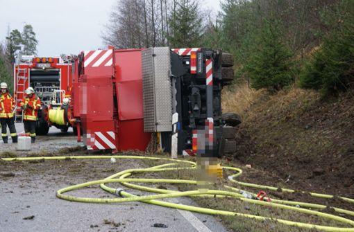 Schwerer Unfall auf der B295