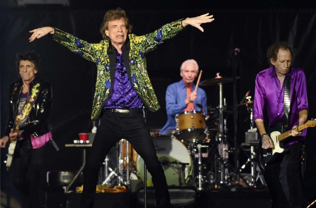 Die Rolling Stones sind noch immer im Geschäft – aber sie kramen jetzt auch schon mal im Archiv. Foto: AP/Chris Pizzello