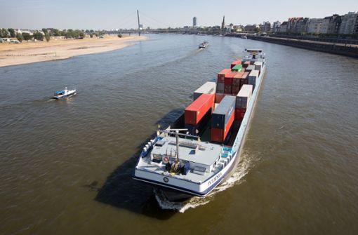 Deutlich weniger Schiffe im Südwesten unterwegs