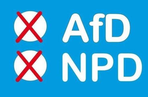 AfD-Anhänger sollen ungültige Wahlzettel abgeben