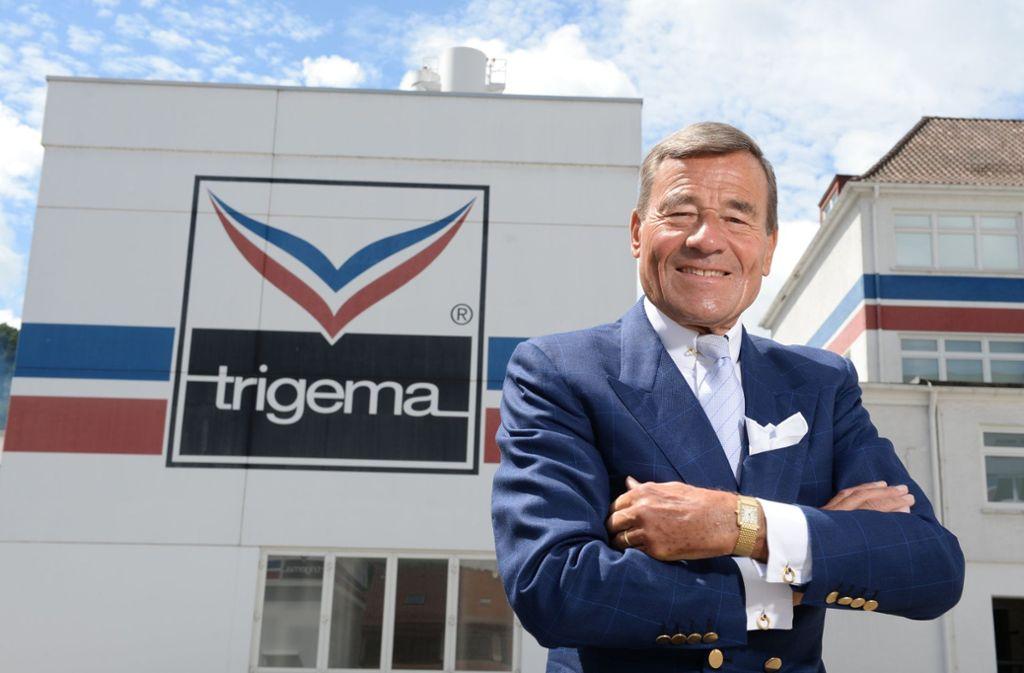 Wolfgang Grupp fährt zum 100. Geburtstag von Trigema richtig auf. Foto: dpa/Patrick Seeger