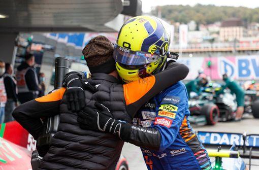 Norris fährt auf ersten Startplatz - Fehler von Hamilton