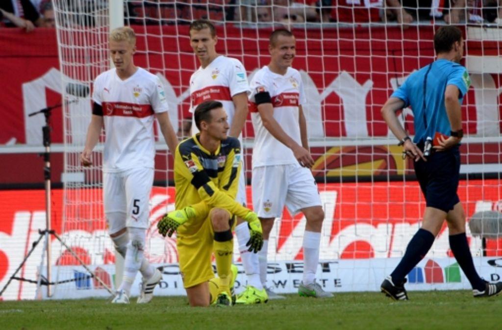 Przemyslaw Tyton muss ein Spiel pausieren und fehlt dem VfB Stuttgart gegen Hertha BSC Berlin.  Foto: dpa