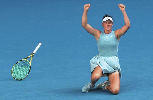 Jennifer Brady gelingt erstmals Finaleinzug bei Grand-Slam-Turnier
