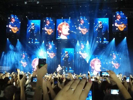 Von Ed Sheeran verzaubert