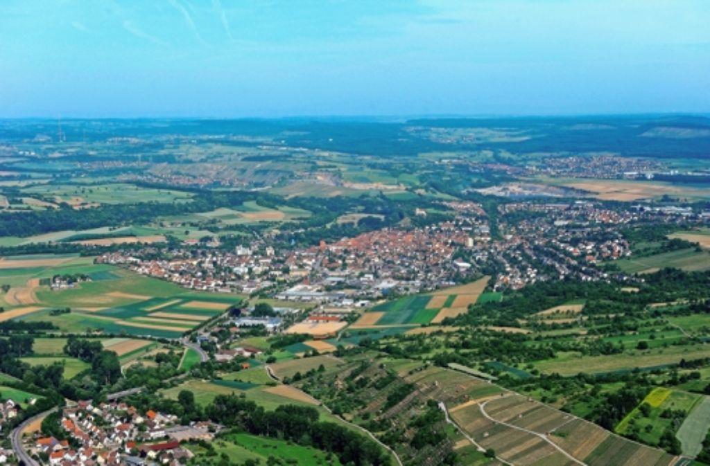 In Vaihingen/Enz kann man mit der neuen Version des Flächennutzungsplanes leben – andere Kommunen sind alles andere als begeistert. Foto: Werner Kuhnle