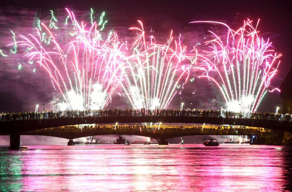 Im nächsten Jahr wird es wieder ein Feuerwerk am Himmel geben. Foto: Felix Kästle/dpa