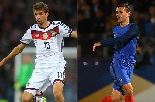 Mit dieser Aufstellung spielt Deutschland gegen Frankreich