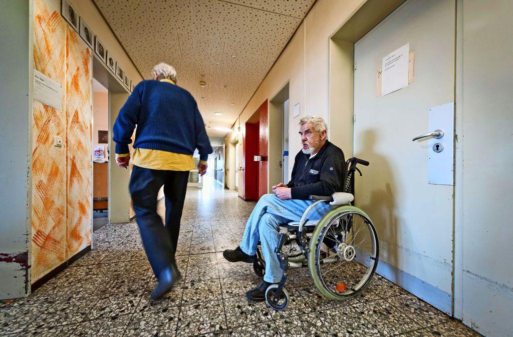 In den Einrichtungen für Wohnsitzlose gelten die gleichen Bestimmungen wie in den Pflegeheimen. Foto: Martin Stollberg