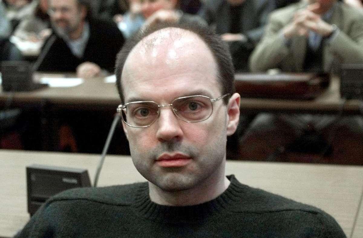 Thomas Drach und seine Mittäter sind wegen der Entführung von Jan Philipp Reemtsma verurteilt worden. Nun steht er erneut vor Gericht. (Archivbild) Foto: AFP/MICHAEL PROBST