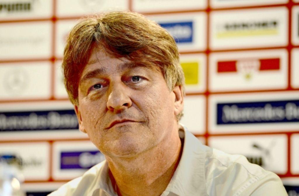 Bernd Wahler hat als VfB-Präsident einige Pläne. Foto: dpa