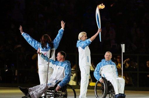 Putin eröffnet Winter-Paralympics