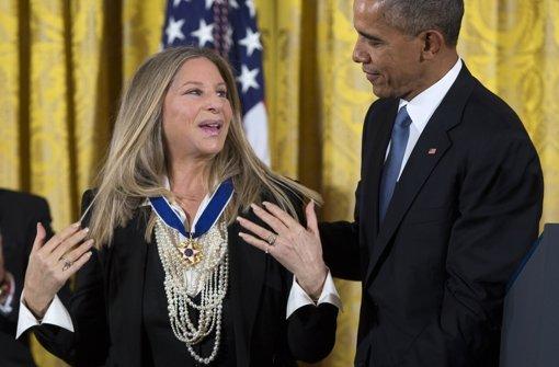 US-Präsident Obama verleiht Freiheitsmedaillen