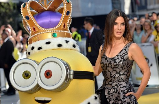 Oberschurkin Sandra Bullock in London