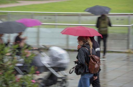 Wochenende wird von Schauern und Gewittern getrübt