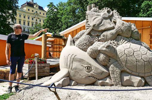 Ein Zoo aus Sand