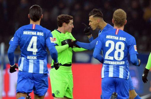 Schalke nach zweimaliger Führung 2:2 bei Hertha BSC