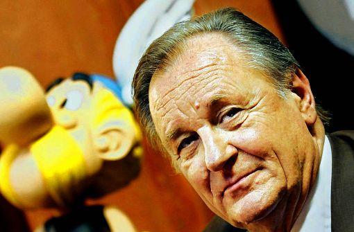 Bücherei feiert mit Asterix und Obelix