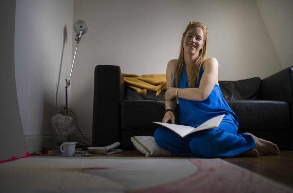 Die Niederländerin Janneke van der Putten ist Performance-Künstlerin. Foto: Manuel Stark Foto: