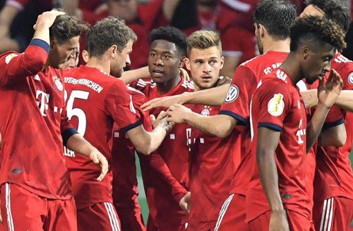 FC Bayern gewinnt packenden Pokalfight gegen Bremen