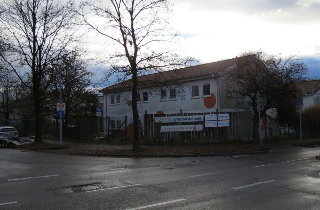 Die Freie Aktive Schule am Bopseräcker in Degerloch muss früher oder später umziehen. Foto: Julia Bosch