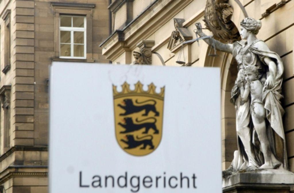 Am Landgericht in Stuttgart wird die Klage verhandelt. Foto: dpa