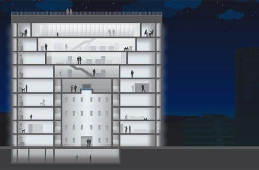 Eine Bibliothek zum Anklicken