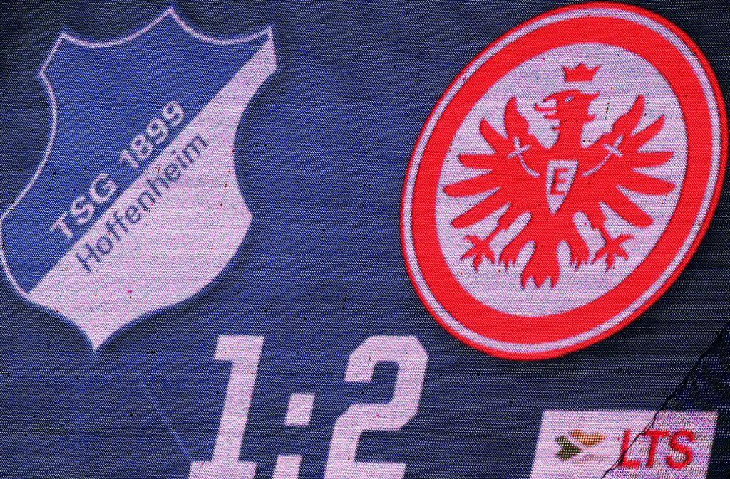 Beim Spiel Hoffenheim gegen Frankfurt ist es zu einem medizinischen Notfall gekommen. Foto: Pressefoto Baumann/Julia Rahn
