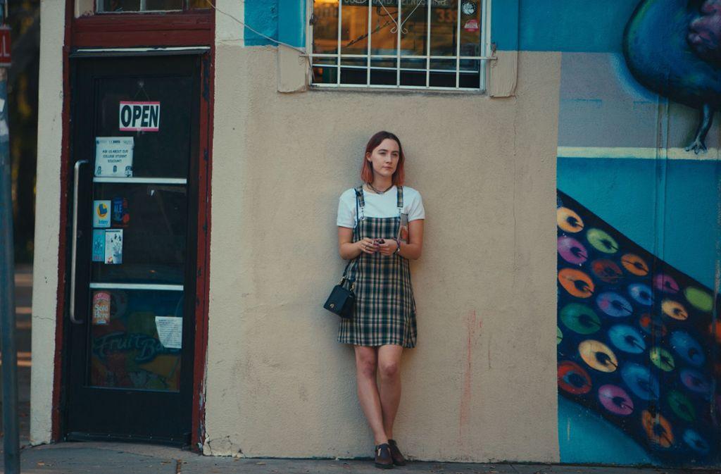 """Jugendliche Sehnsüchte, flüchtig wie  der amerikanische Traum: Saoirse Ronan  in """"Ladybird"""" Foto: Verleih"""