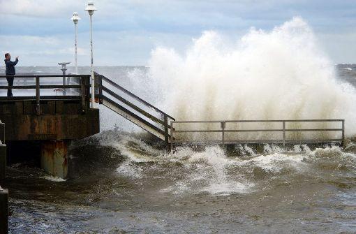 Sturmflut an der Ostseeküste erwartet