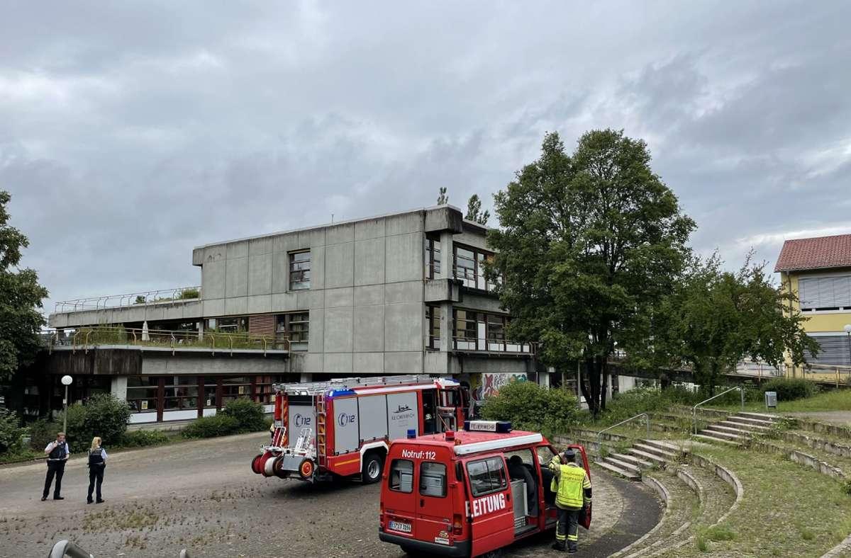 An der Realschule in Reichenbach kam es am Mittwochmittag zu einem Großeinsatz. Foto: SDMG/SDMG / Kohls