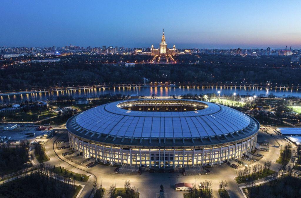 Russland Eröffnungsspiel