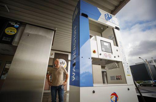 Als  Wasserstoff-Tankwart ein Pionier