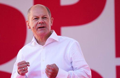 Auch der ARD-Deutschlandtrend sieht die SPD vor der Union