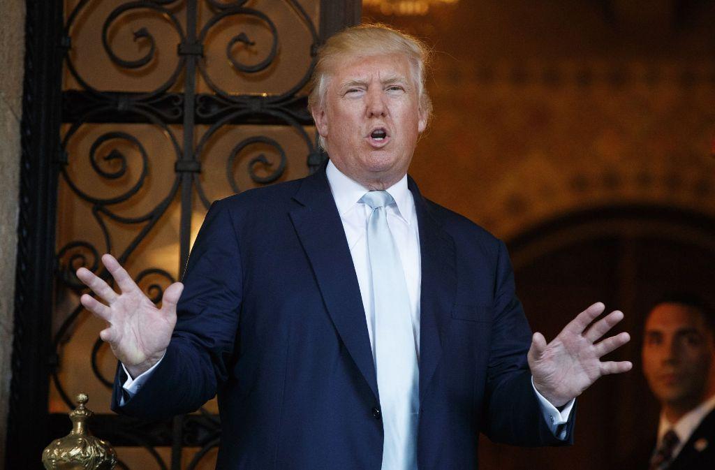 Der designierte US-Präsident Donald Trump droht dem US-Autobauer General Motors (GM) hohe Einfuhrzölle für in Mexiko produzierte Autos an. Foto: AP