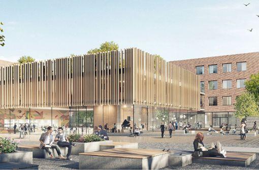 Mehr als 100 Millionen Euro für das Neue Gymnasium Leibniz in Feuerbach