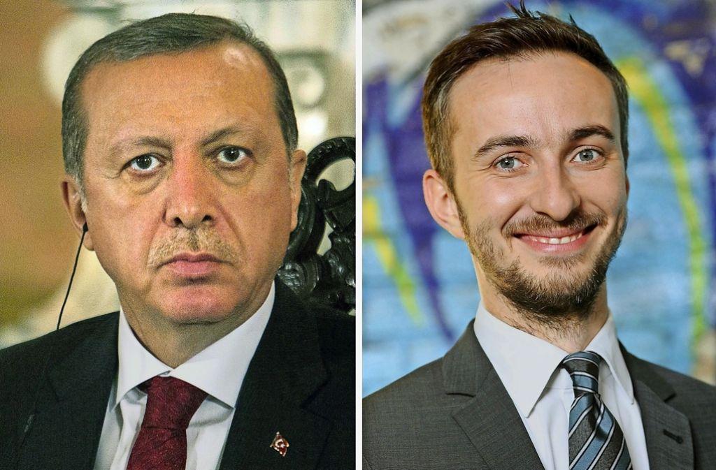 Kein Freund von  Recep Tayyip Erdogan: Jan Böhmermann Foto: AFP