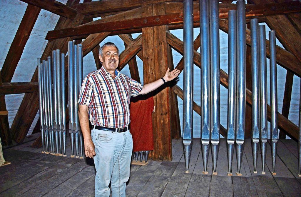 Pfarrer Martin Hug Foto: Kuhn
