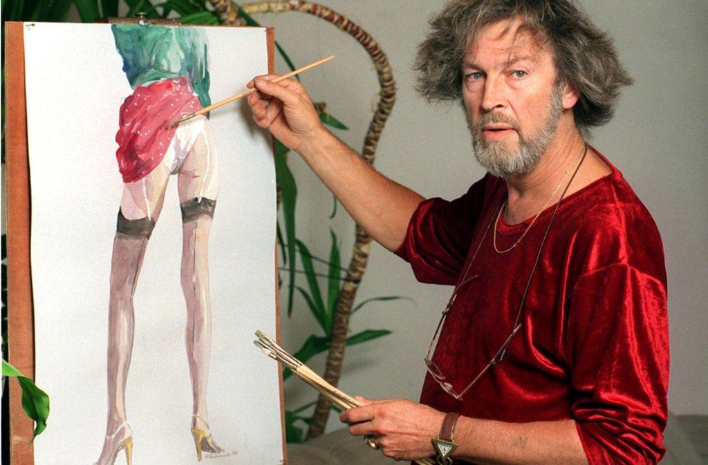 Der Kunstmaler und frühere Meisterfälscher Wolfgang Lämmle ist in Australien im Alter von 77 Jahren gestorben. Foto: Archiv/dpa
