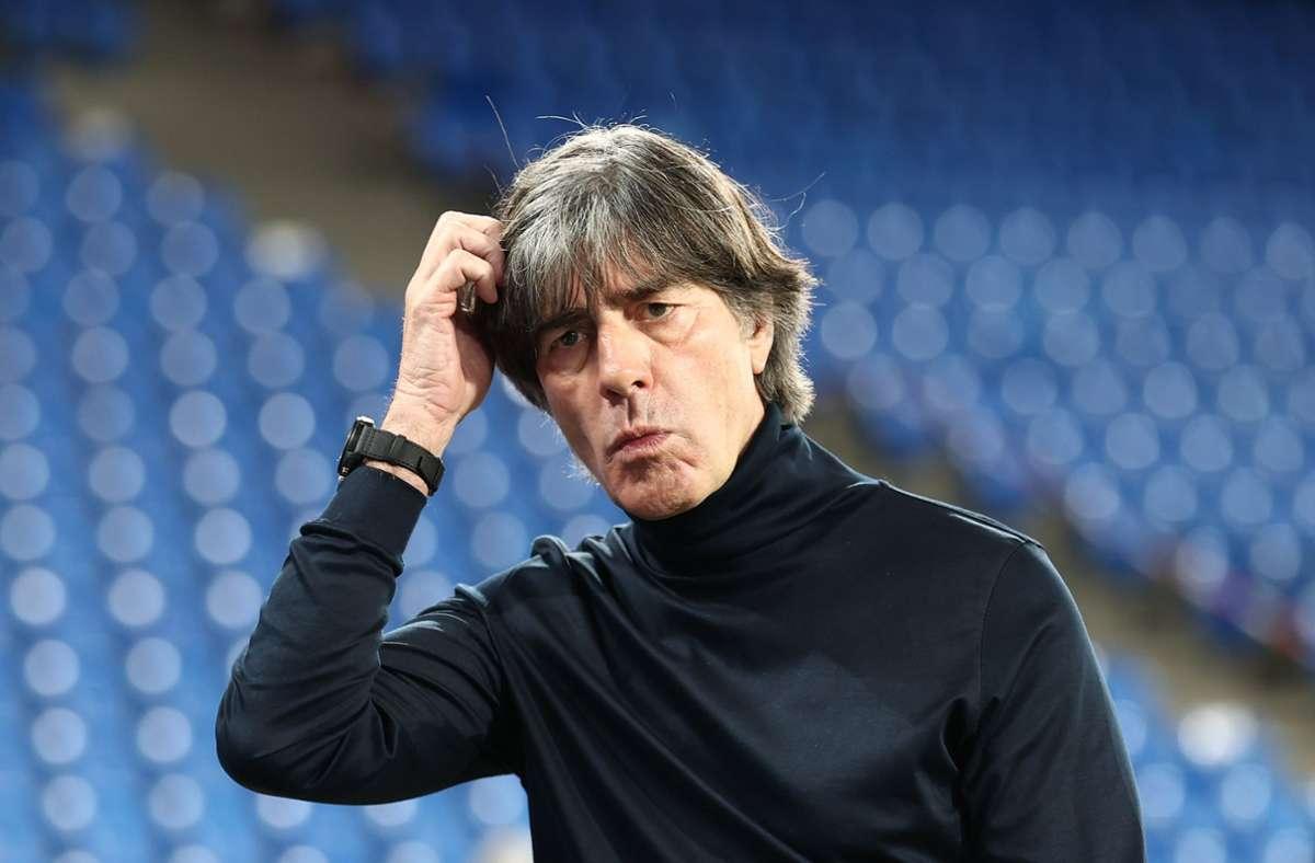 Bundestrainer Joachim Löw. (Archivbild) Foto: dpa/Christian Charisius