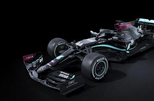 Schwarzer Formel-1-Mercedes – gegen Rassismus