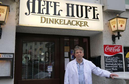 """Schwäbisches Traditionslokal """"Alte Hupe""""   schließt"""