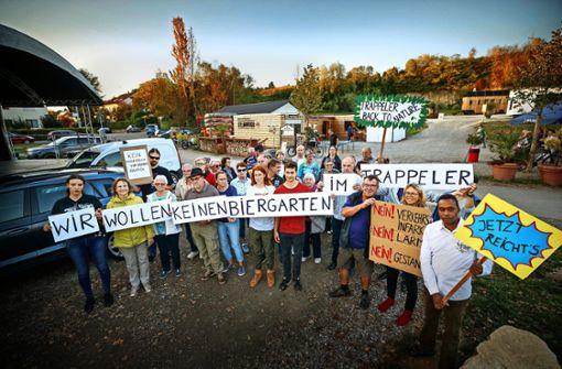 Anwohner fordern das Ende des Biergartens